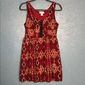 Band of Gypsies Red Dress